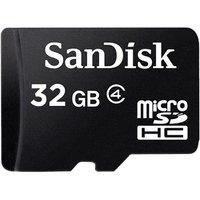 Sandisk 32gb Class 4 Micro SD Card