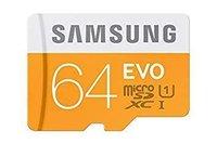 SAMSUNG EVO 64GB MEMORY CARD