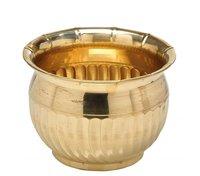Decorative Round Brass Planter 12 inch