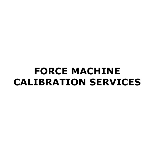 Force Machine Calibration Services