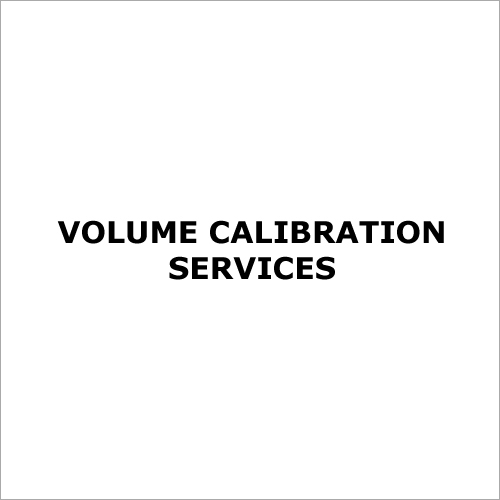 Volume Calibration Services