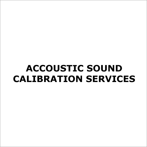 Accoustic Sound Calibration Services