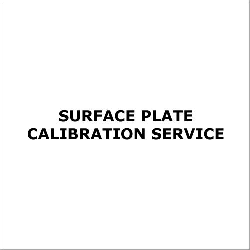 Surface Plate Calibration Service