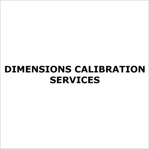 Dimensions Calibration Services