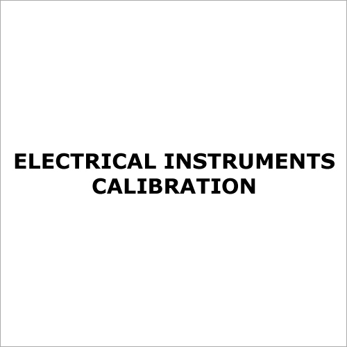 Electrical Instruments Calibration