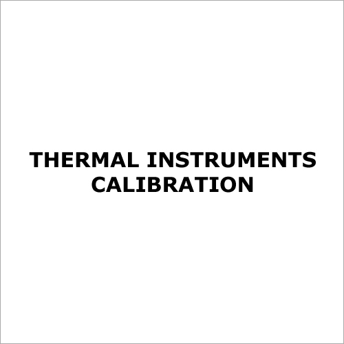 Thermal Instruments Calibration