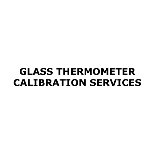 Glass Thermometer Calibration Services