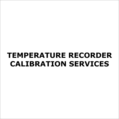 Temperature Recorder Calibration Services