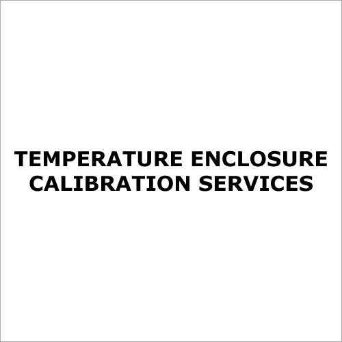Temperature Enclosure Calibration Services