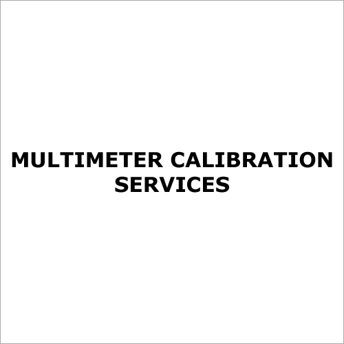 Multimeter Calibration Services