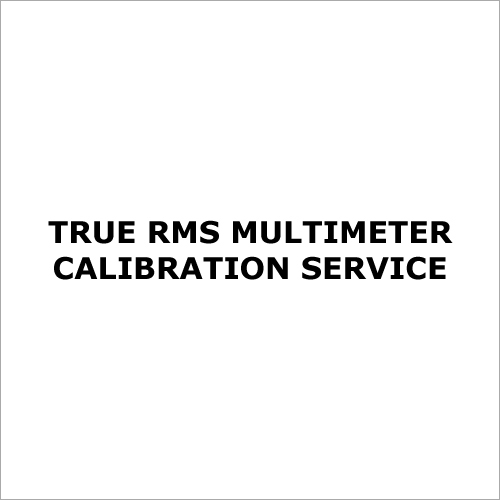 True RMS Multimeter Calibration Service