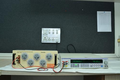 Decade Resistance Box Calibration Services