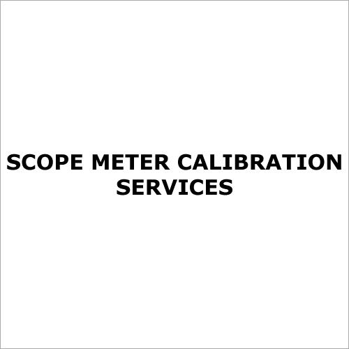 Scope Meter Calibration Services