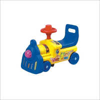 Plastic Engine Ride Toy