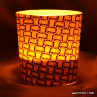 Beautiful Glass Candle Holder Glass Handmade