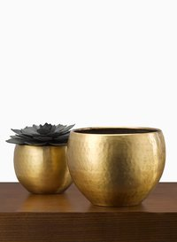 Decorative Brass Planters For Home