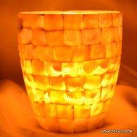 Glass Seap Votive Candle Holder Fancy Fair