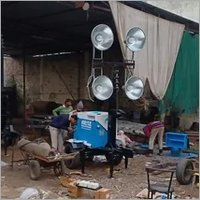 MOBILE TELESCOPIC LIGHT TOWER