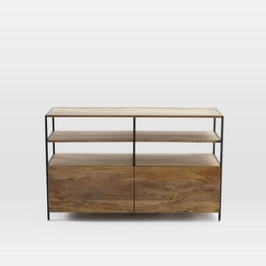 Wooden Media Stand