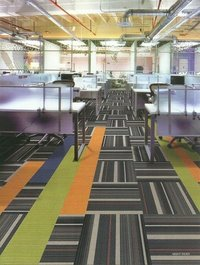 Straight Forward Night Rider Carpet Tiles
