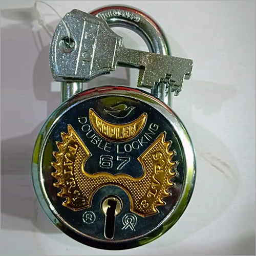 Double Locking Pad Lock