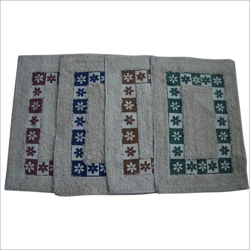 Printed Cotton Bath Mat