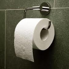 Toilet White Tissue Roll