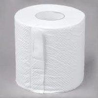 Toilet White Tissue Roll