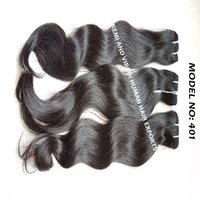 Beautiful 100% Indian Remy Natural Water Wavy Human Hair Extension