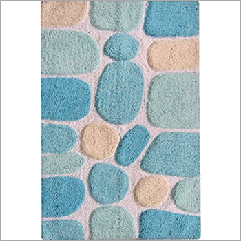 Tufted Bath Mat Stone Design