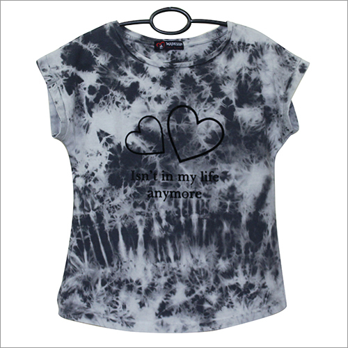 Tie n Dye Print Girls Top