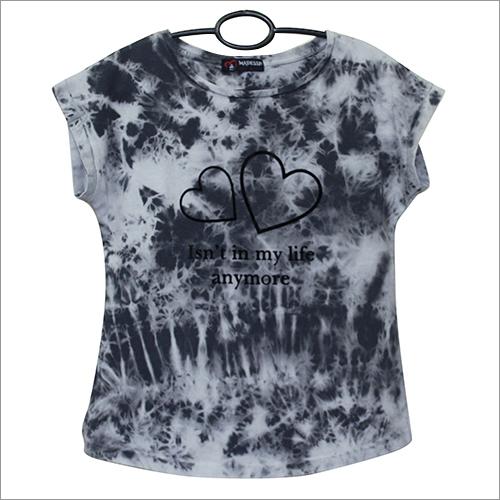 Tie n Dye Print Girls Top