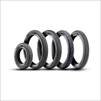 Two Wheeler Rubber Tyre Set