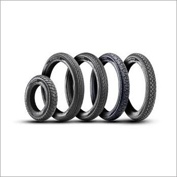 Two Wheeler Rubber Tyre Set