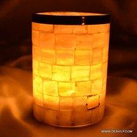 Mercury Glass Pillar Candle Holders Beautiful