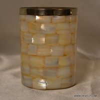 Mercury Glass Pillar Candle Holders Beautiful