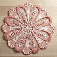 Floral Shaped Bath Mat