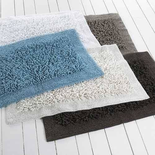 Cotton Tufted Bath Mats