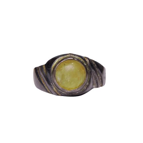 Natural Stone Cat's Eye Ring