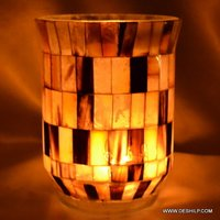 Glass Hurricane Candle Holders Beautiful