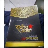UV coated Digital doors