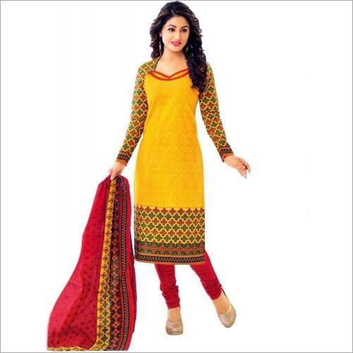 Ladies Designer Colour Full  Suit
