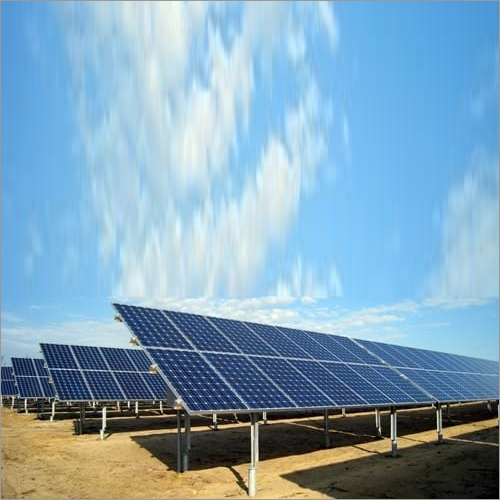 Solar Panel Galvanized Structure