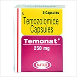 Temozolomide 250mg  Capsules