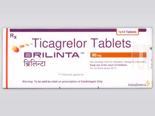 Ticagrelor 90mg Tablets