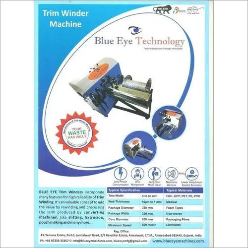 Slitter Trim Winder Machinery