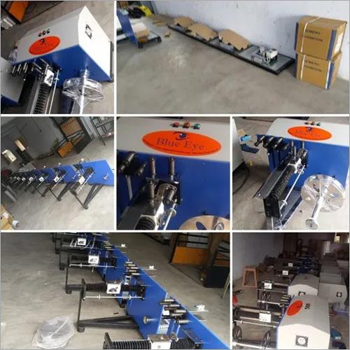 Pounch Making Trim Winder Machine