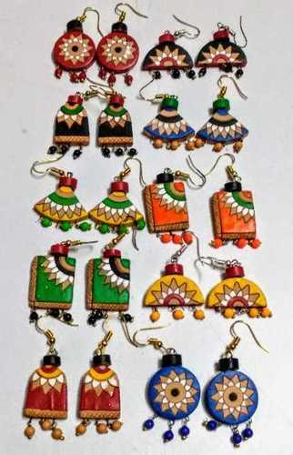 Ethnic Terracotta Earrings