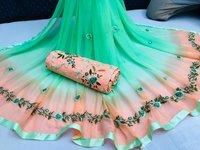 Extra Ordinary Work Designer Dress Materials