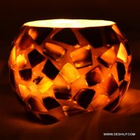 SEAP T LIGHT GLASS CANDLE HOLDER